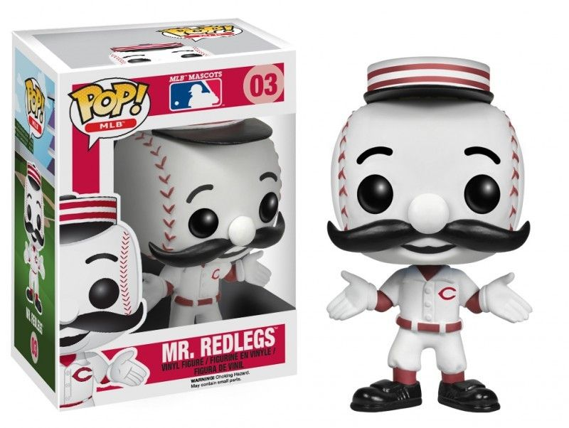 POP! MLB Mascots Mr. Redlegs Vinyl Figure (Cincinnati Reds