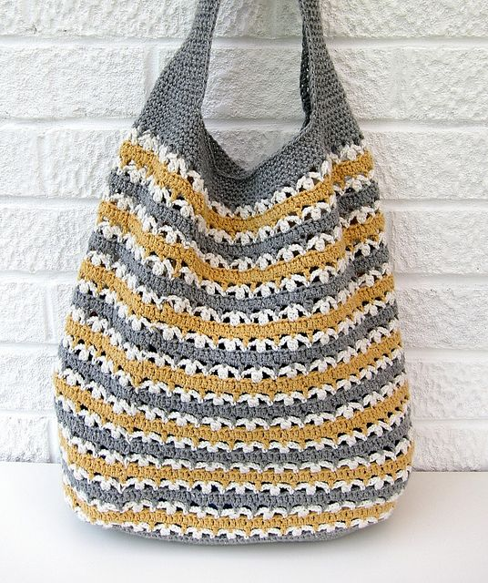 19068f5ed3f Crochet bag (3) | Crochet | Crochet market bag, Crochet, Crochet purses