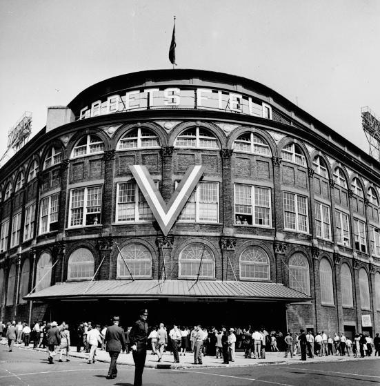 Ebbets Field, 55 Sullivan Place, Brooklyn, 1946.