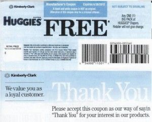 free coupons for huggies diapers