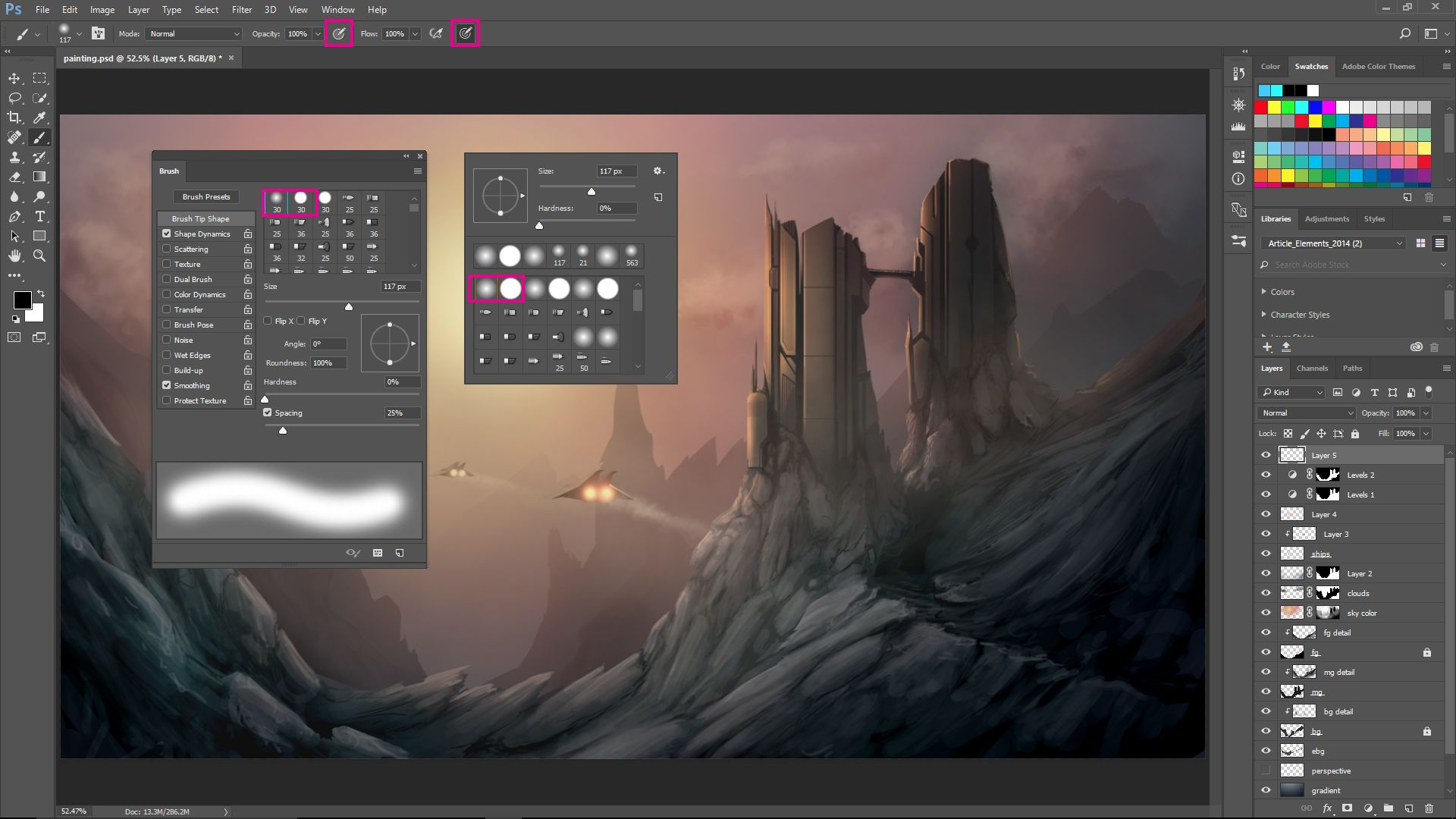Digital painting with CC for beginners (With
