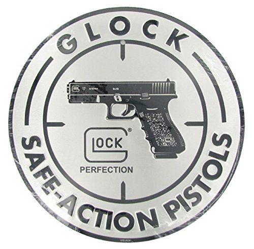 $15 24 Glock Perfection OEM Safe Action Aluminum Sign | need