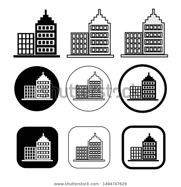 Pin By Icon0 Com On Vector Icon Sign Design Building Icon Simple Building