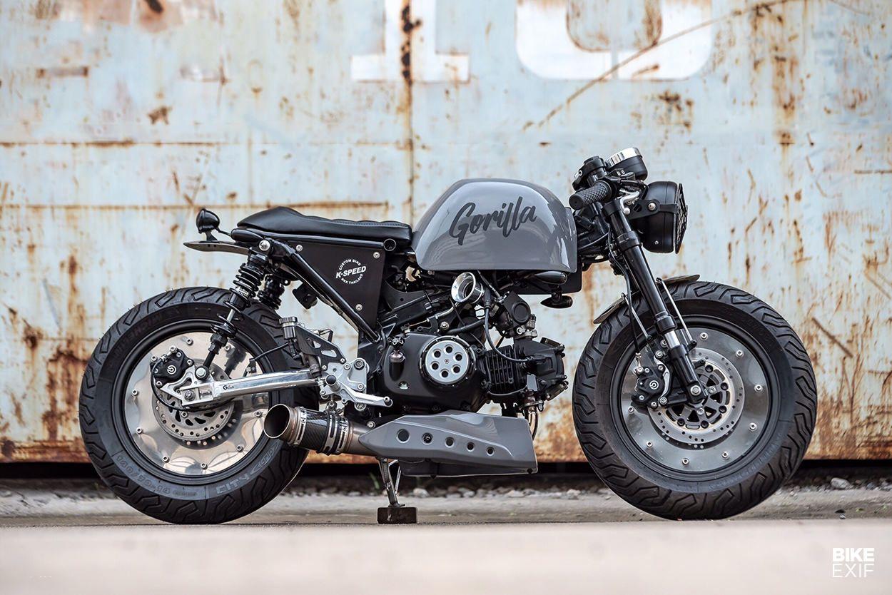 2019 Honda Monkey 125 Std Scrambler Cafe Revealed Autopromag Usa In 2020 Honda Monkey Mini Bike
