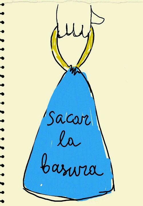 2a Los Quehaceres Sacar La Basura Imparare Lo Spagnolo Spagnolo