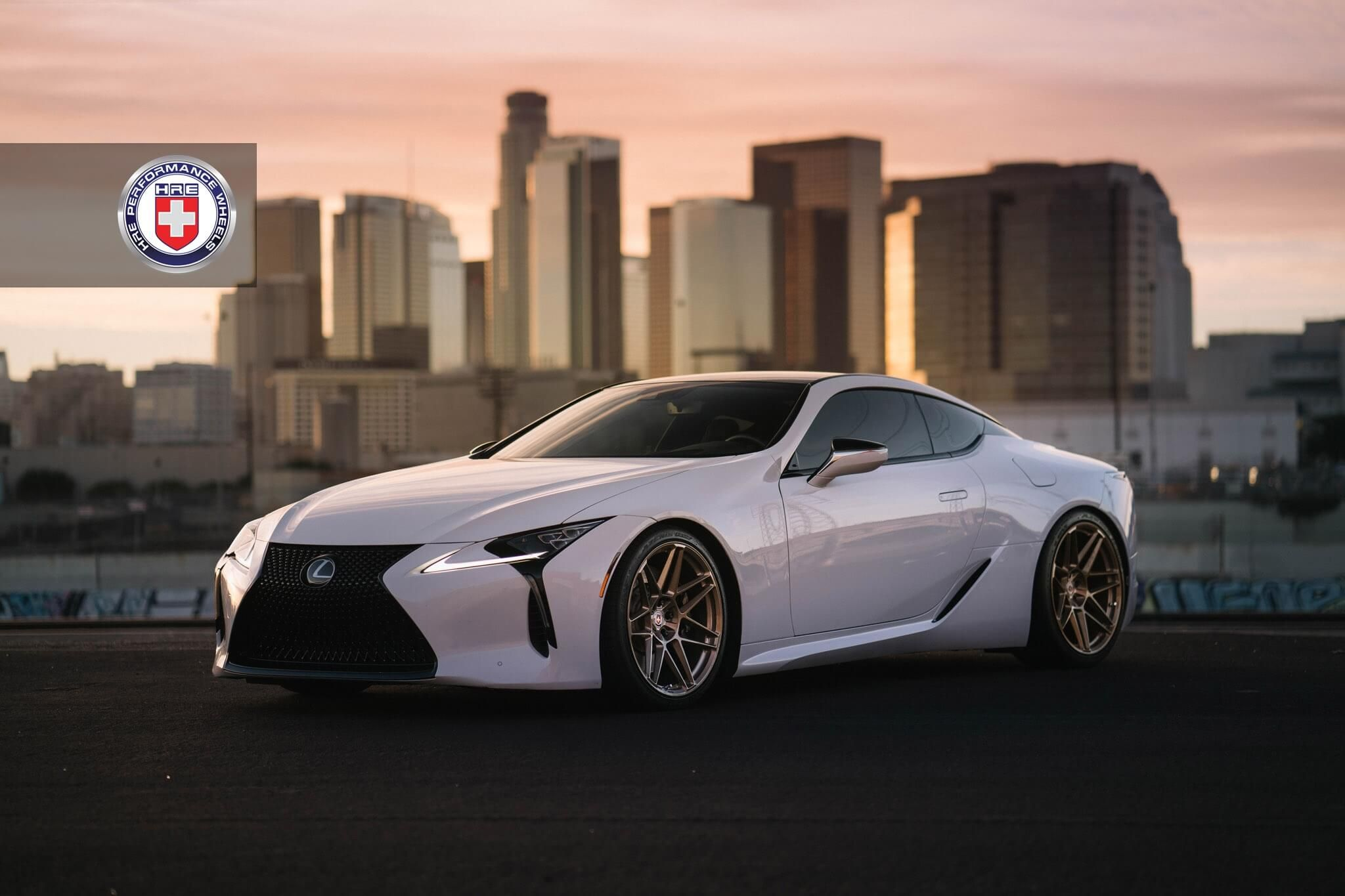 Lexus Lc 500 With Hre Rs200m In Stone Champagne Lexus Lc Lexus Discount Tires