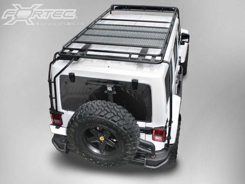 Gobi Racks Stealth Roof Rack System For 07 Up Jeep Wrangler Jk 4
