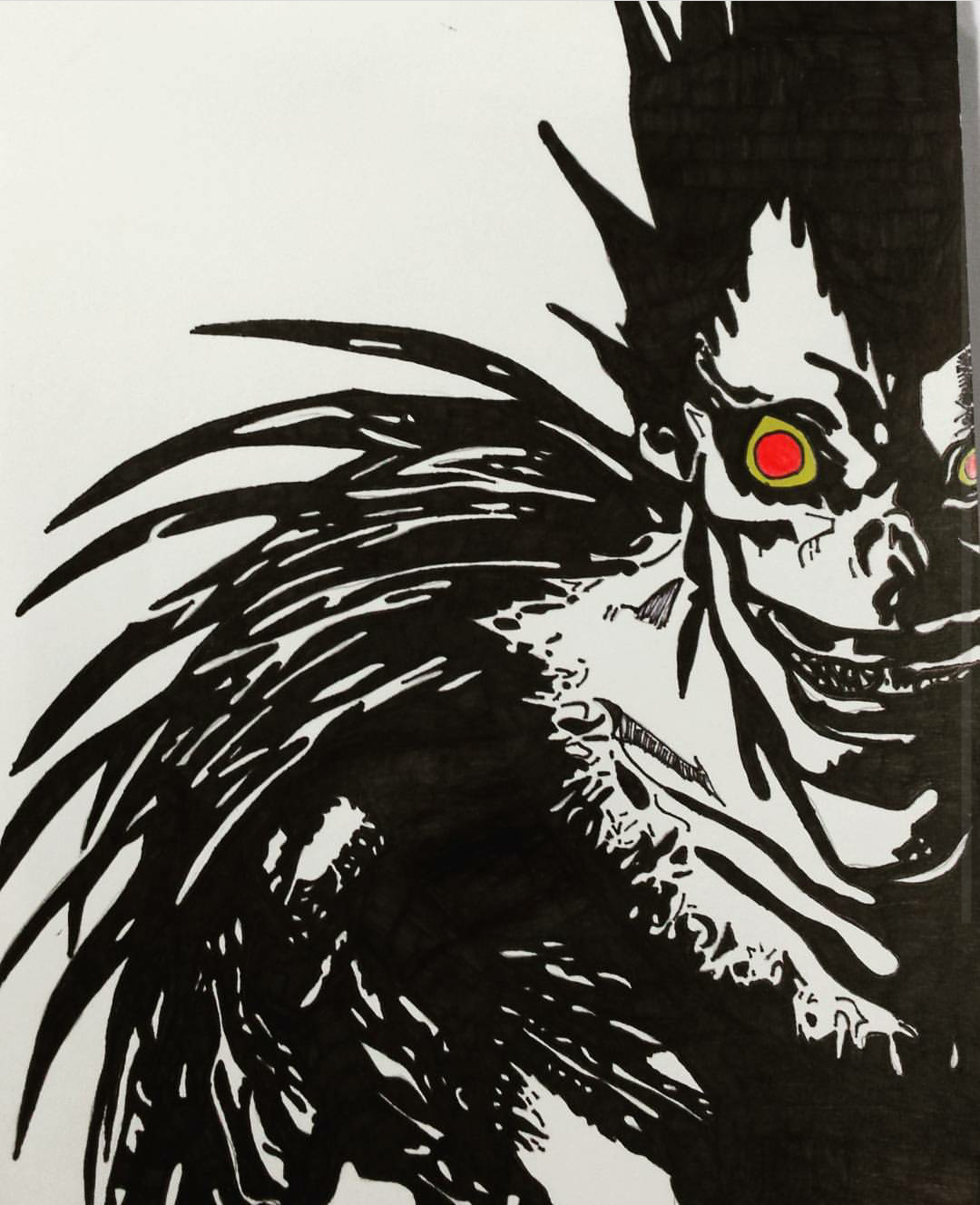 Tried Something New Ryuk The Shinigami From Deathnote