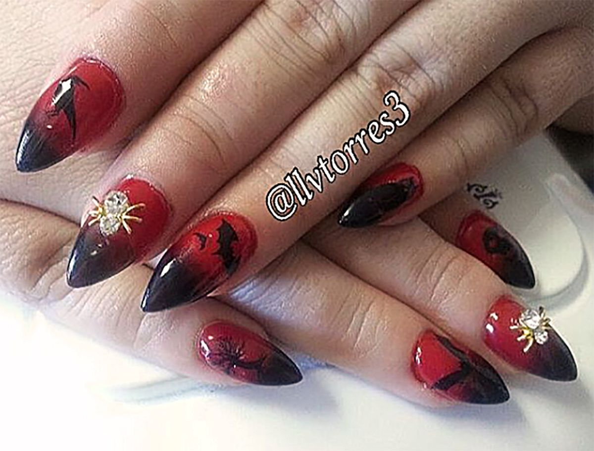 Pin by Moon Sugar Decals on Halloween Nail Art Decals ...