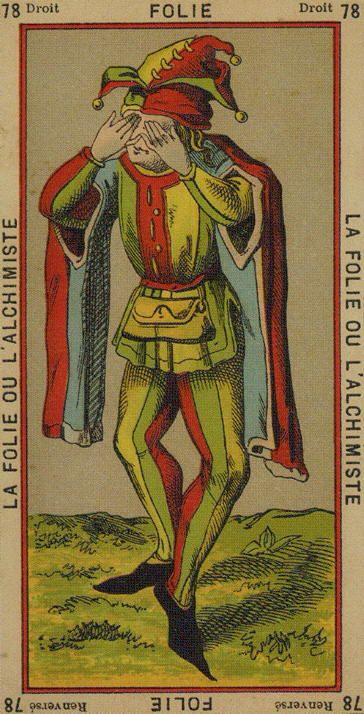 Madness Or The Alchemist (The Fool)
