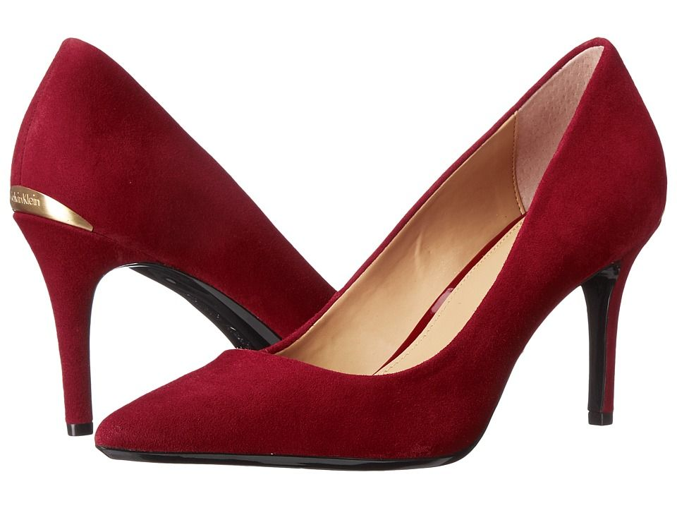 On sale in 7 colors, check out & shop the Calvin Klein 'Gayle' pumps, available here: rstyle.me/~9pPuT
