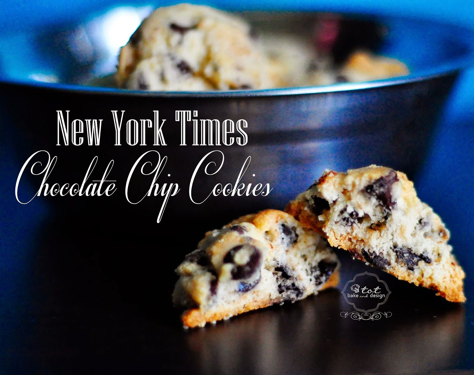 Resepi & Tutorial : New York Times Chocolate Chip Cookies ...