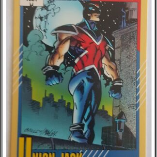 Union Jack Marvel Trading Card Super Heroes 1991 Card 24 Comics Cards And Stamps And Home Goods Union Jack Marvel Marvel Cards Marvel