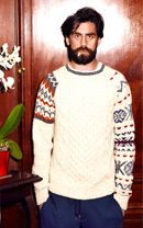 Casely-Hayford - F/W '12...loving the fair isle with the aran in patchwork...both are traditional and work so well together