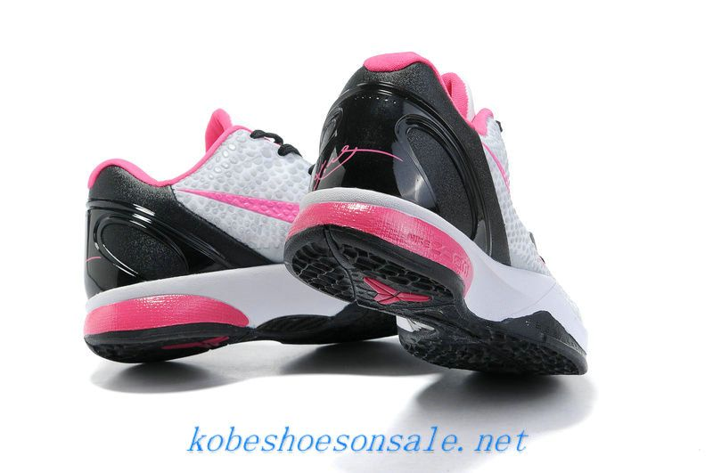 Nike Zoom Kobe 6 Kids Basketball Shoes Grey Pink Black
