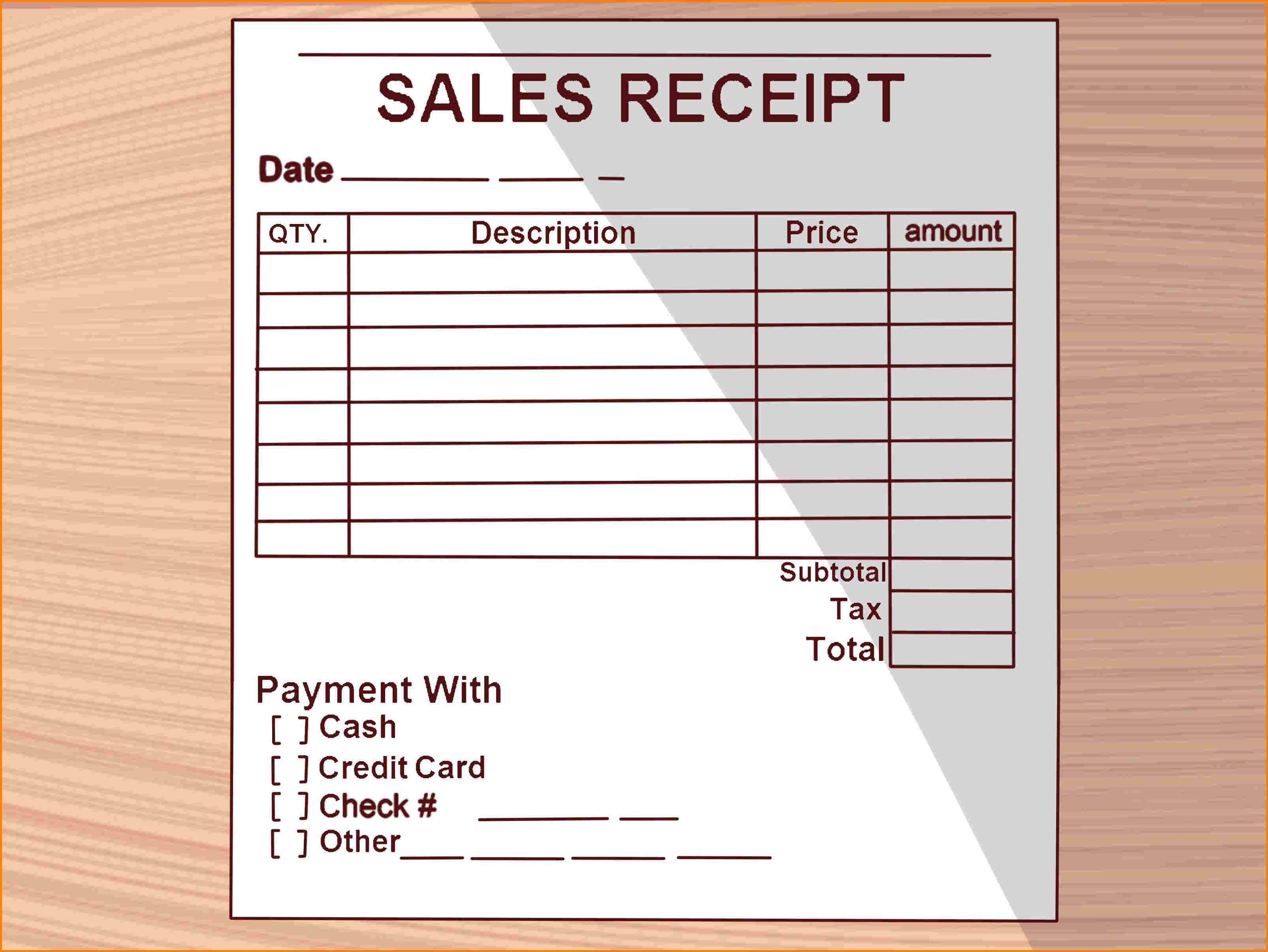 New How To Write A Receipt Xls Xlsformat Xlstemplates Xlstemplate Check More At Https Mavensocial Co How To Write A Receipt