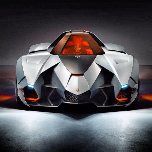 Newest Lamborghini Egoista: 2013 Lamborghini Egoista Concept. Looks Like A Stealth