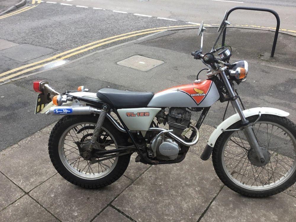 Motorcycle Classic Tl125 Honda Honda Dirt Bike Honda Motorcycle