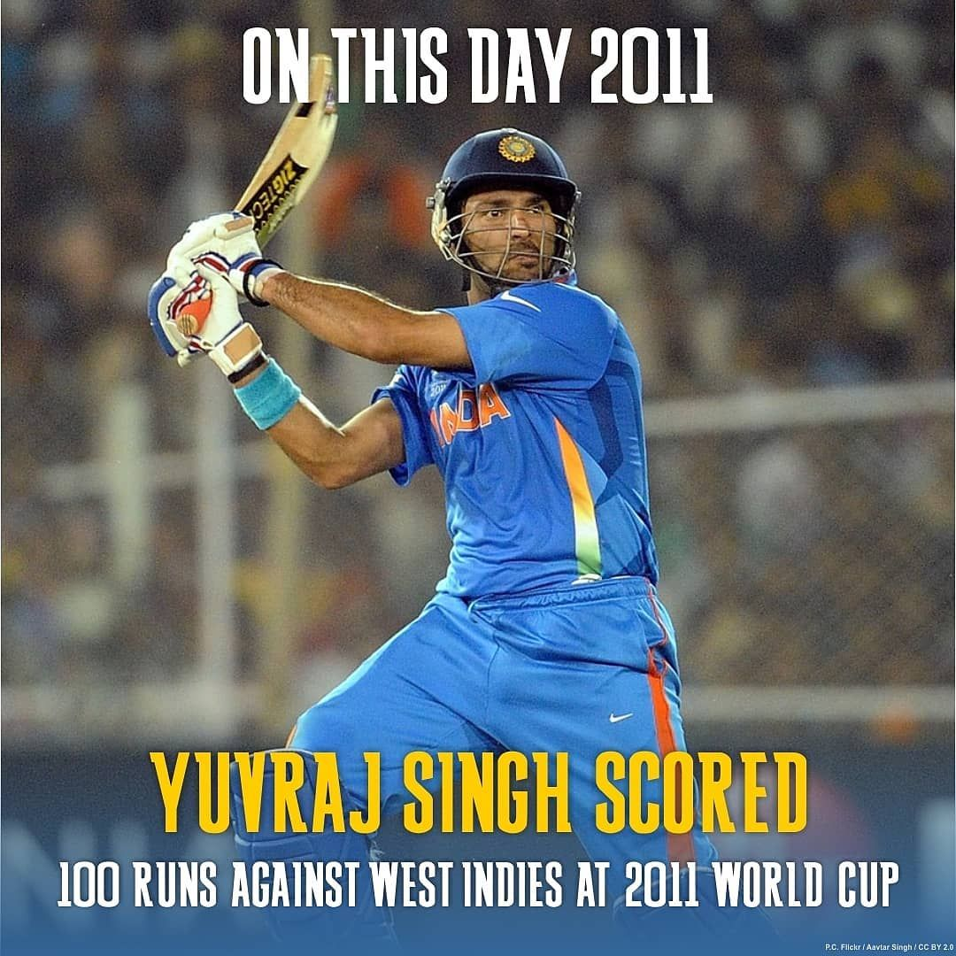 On This Day In 2011 Yuvisofficial Battled Illness Scoring 100 Runs Aided India In Winning The World Cup Against The In 2020 World Cup Sports Website West Indies