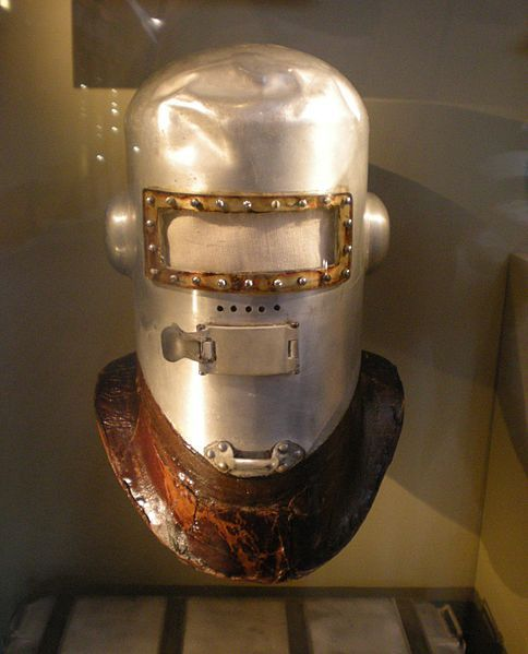 Wiley Post's First Pressure Helmet- Smithsonian. Photo By