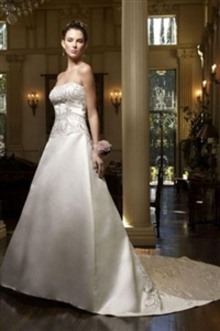 Casablanca Bridal Wedding Dress style 1970 295 Brides