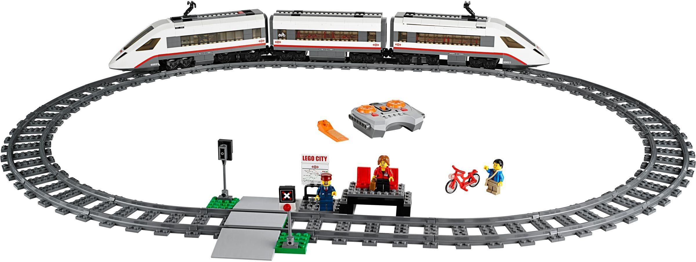 60051 1 High Speed Passenger Train Lego City Train Toy Train