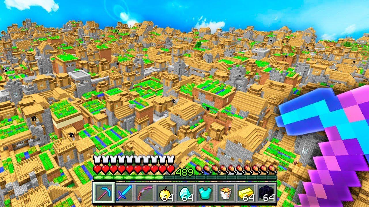 I spawned 9,9,9 Villages in Minecraft UHC in 9  Minecraft