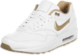 huge discount 53ba2 cf8b6 ... promo code for nike air max 1 fb woven heren wit goud schoenen kopen.  factory