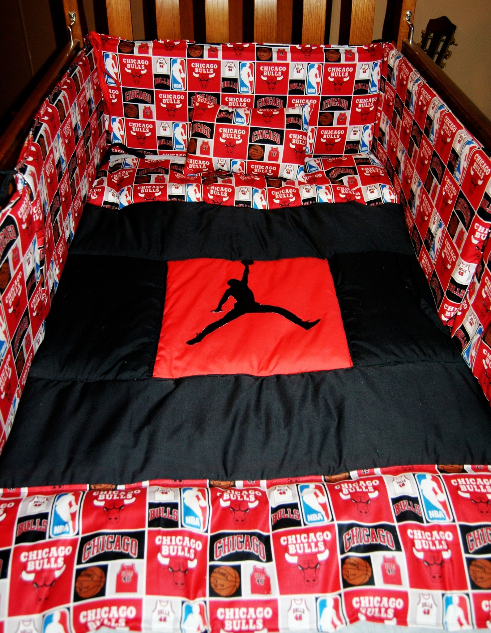 Michael Jordan Chicago Bulls Baby Bedding I Made