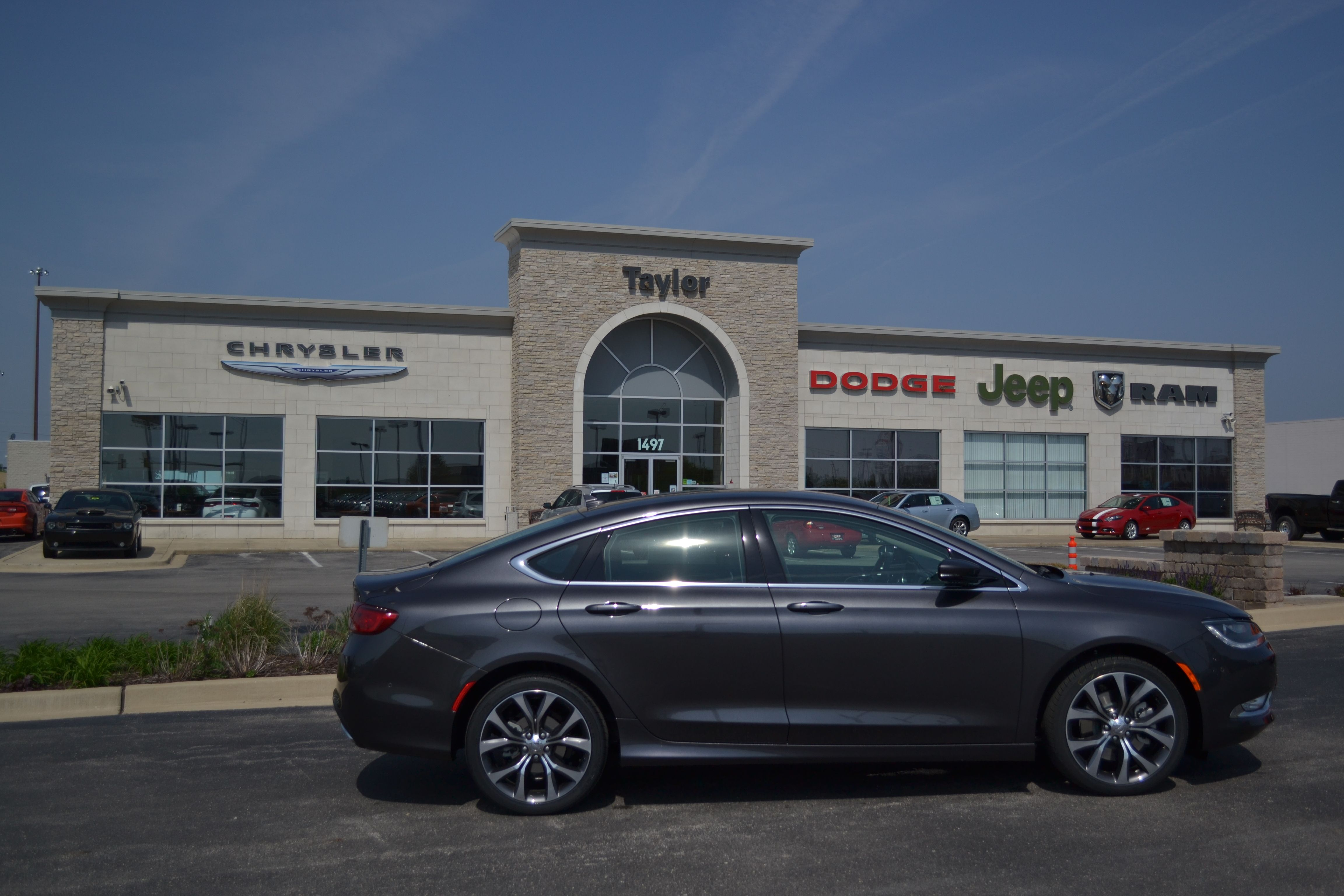 The All New 2015 Chrysler 200 Has Arrived At Taylor!