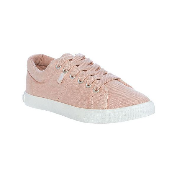 Women's Rocket Dog Campo Sneaker - Dusty Pink Beach Canvas Casual ($50) ❤  liked