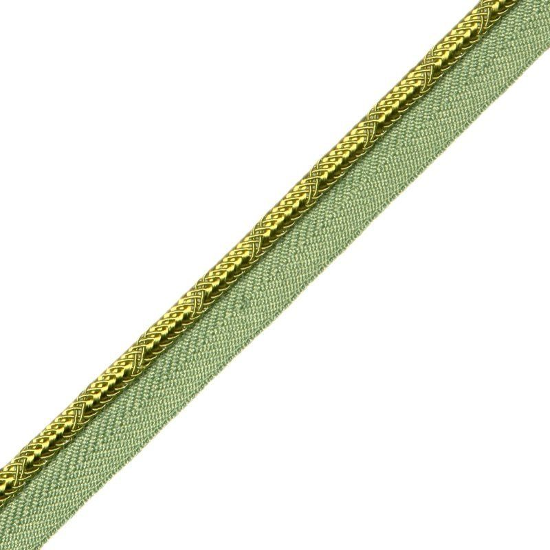 "1/4"" piping Chartreuse."