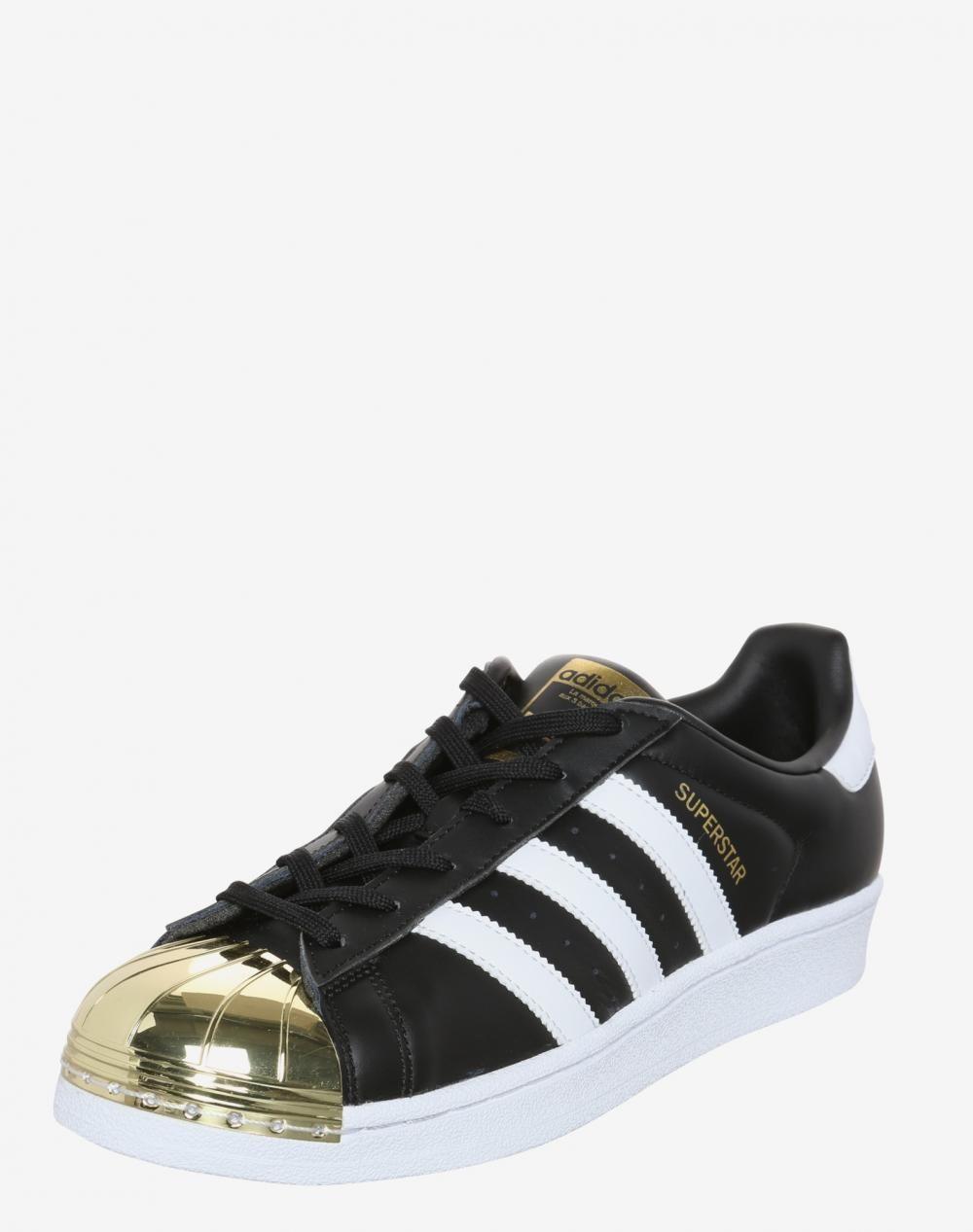 on sale 53ec2 6eba6 Adidas Superstar Damen Sneaker Gold / Schwarz / Weiß ...