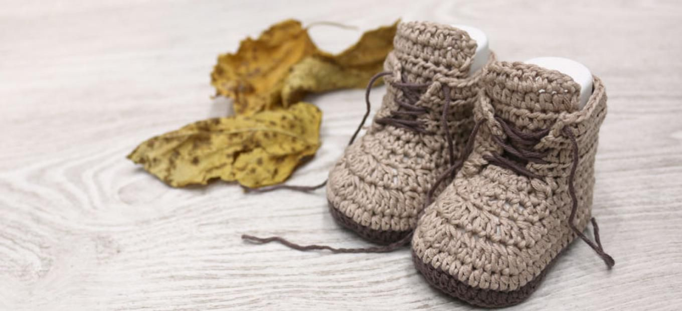 baby brown booties crochet free pattern with video tutorial ...