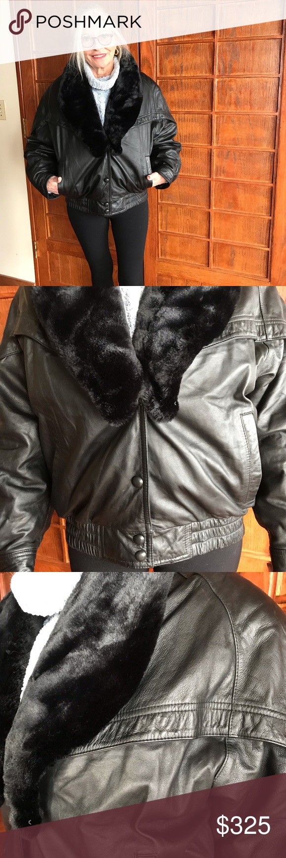 Wilsons Leather Thinsulate Jacket This super warm jacket