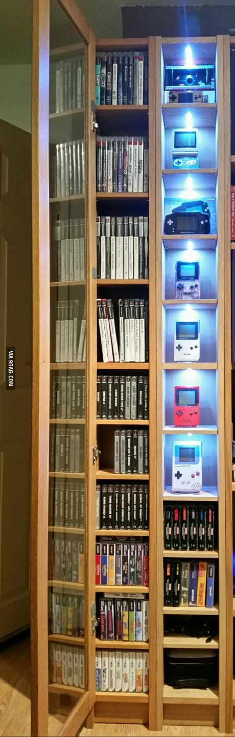 Updated retro gaming shelf. What do you think guys?                                                                                                                                                      More