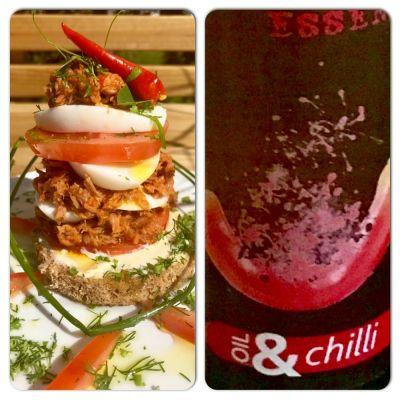 #olioflaminio #olio #flaminio #extravirgin #trevi #umbria #italy #recipe #sandwich
