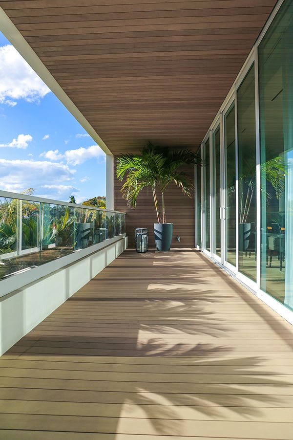 Ritz Carlton Miami goes with an Esthec Terrace Facade #luxury - Terrace Design