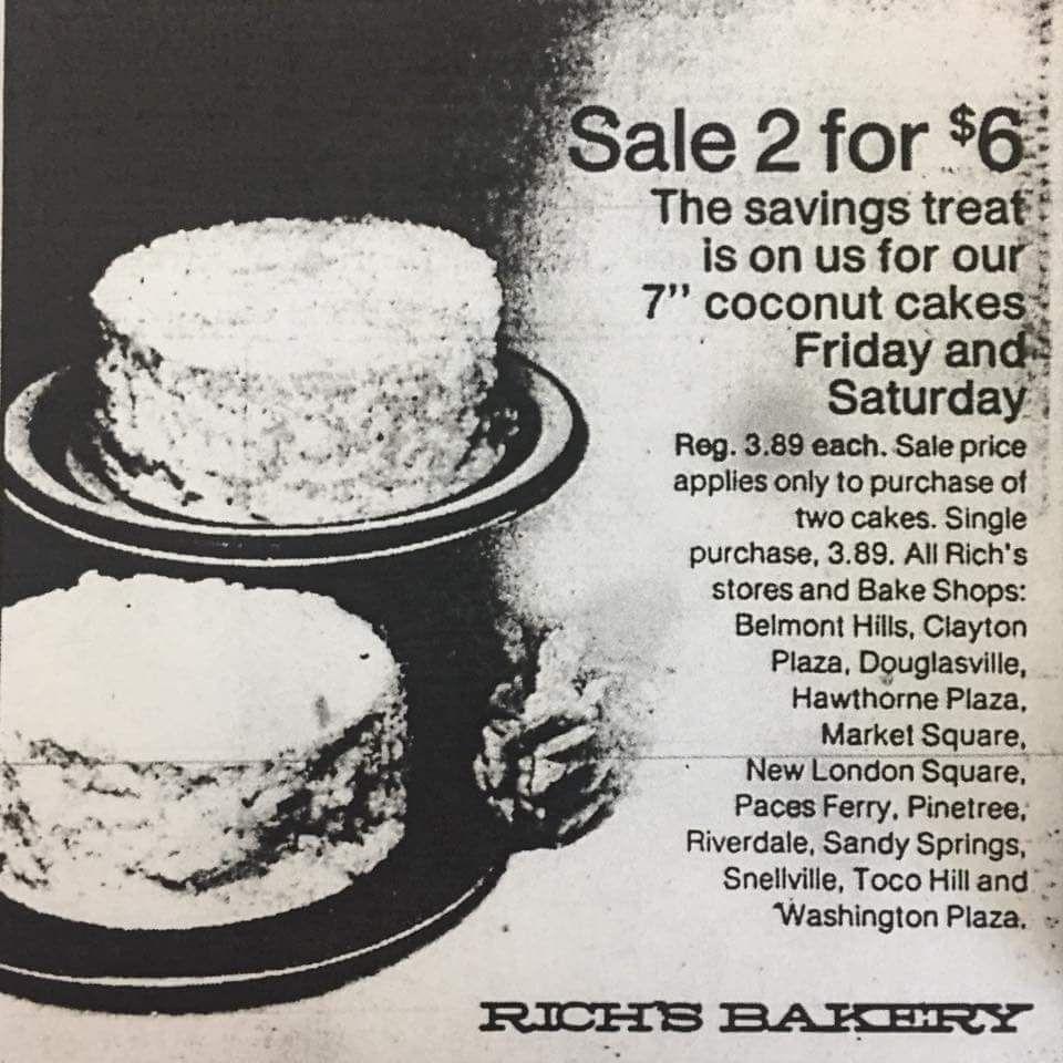 Bakery bargain. history, on my mind