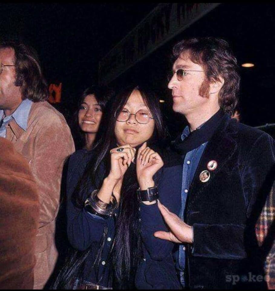 John Lennon And May Pang John Lennon Beatles Imagine John Lennon Lennon