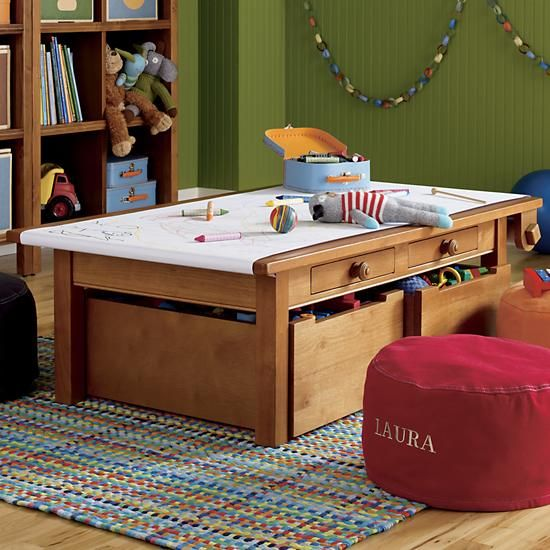 The Land Of Nod Kids Play Tables Kids Honey Adjustable