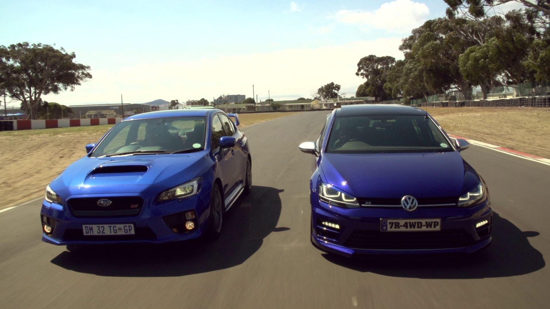 Drag Race Vw Golf 7 R Vs Subaru Sti Subaru Subaru Sti Subaru Wrx Sti