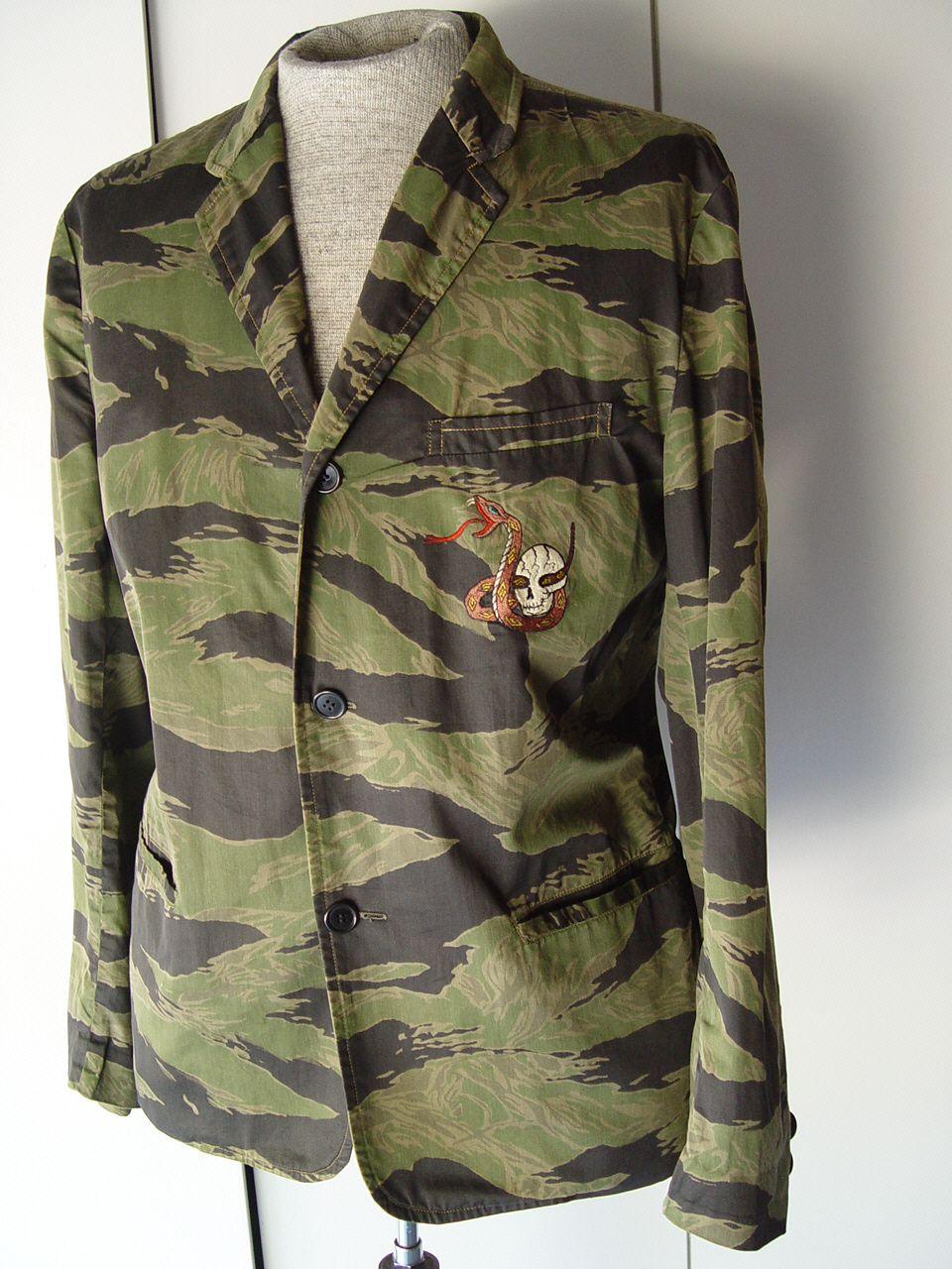 TIGER STRIPE SOUVENIR PARTY SUIT COAT « Vietnam-Militaria com: Shop