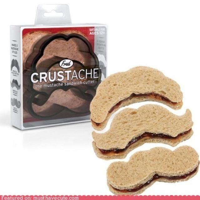 Mustache Sandwich Cutter Baby Shower Ideas Pinterest Movember