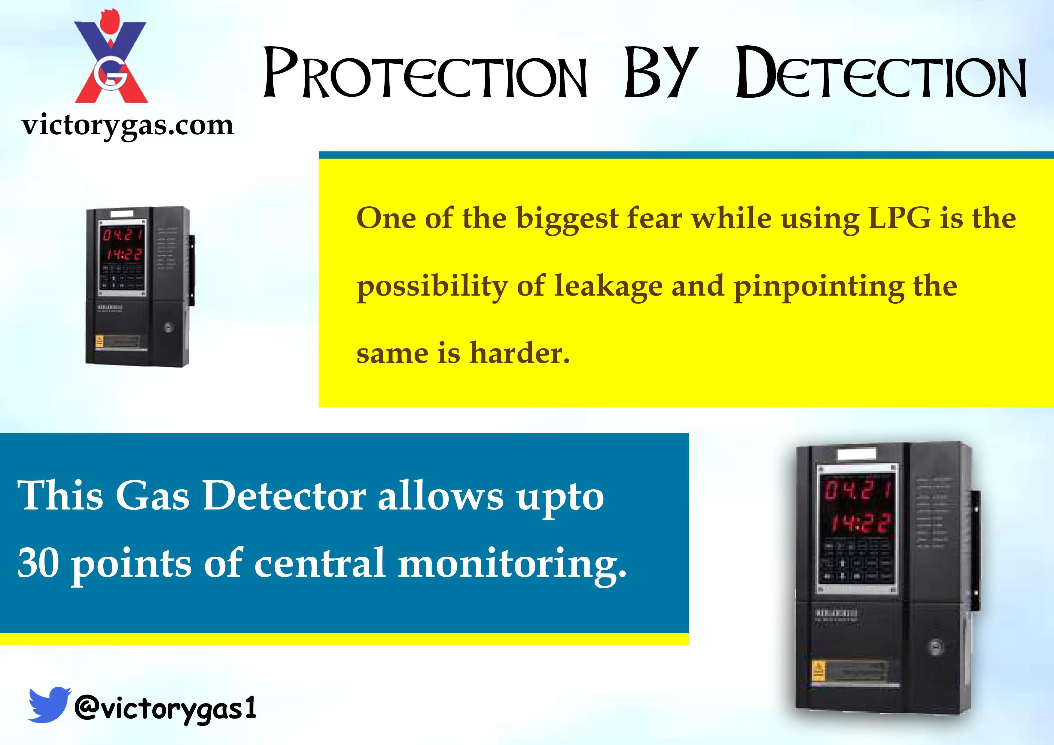 Gas Detectors Makes It Easier To Detect Gas Leakage Gasleakage Takeprecaution Gas Detector Alarm Companies