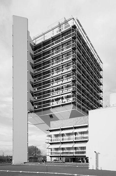 Olivetti building 1972 frankfurt germany architect for Interior design frankfurt