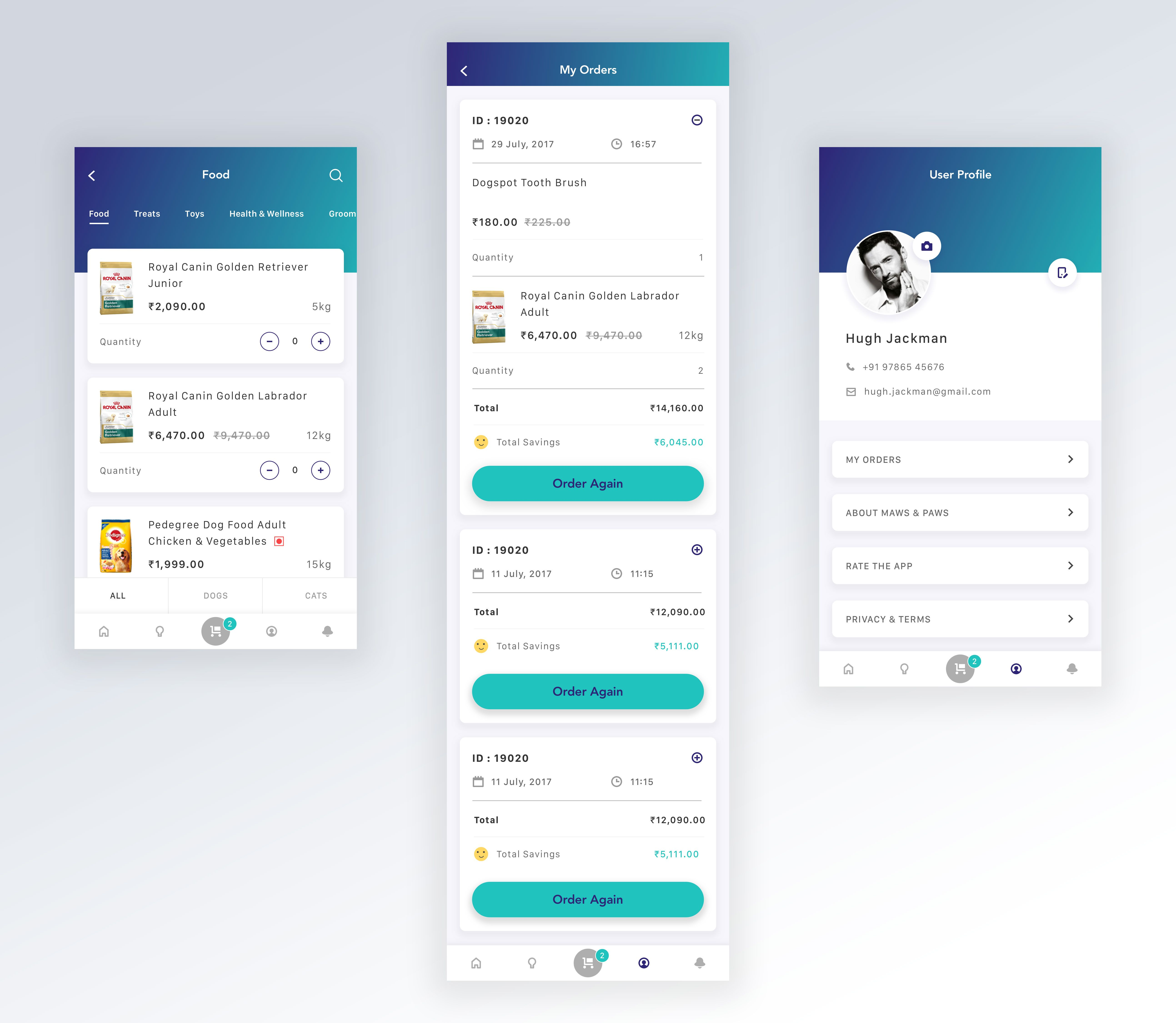 Rp Multiple Web Design App Design Mobile App Design