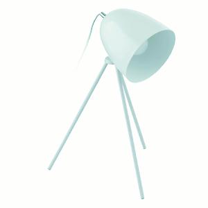 lampada da tavolo don diego azzurro polvere leroy merlin