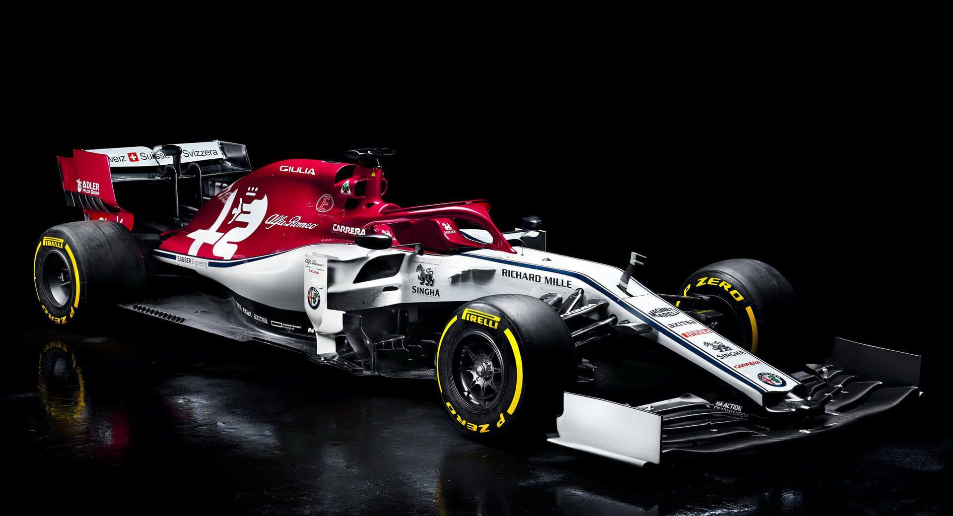 Alfa Romeo Debuts 2019 F1 Livery With Giulia And Stelvio Branding