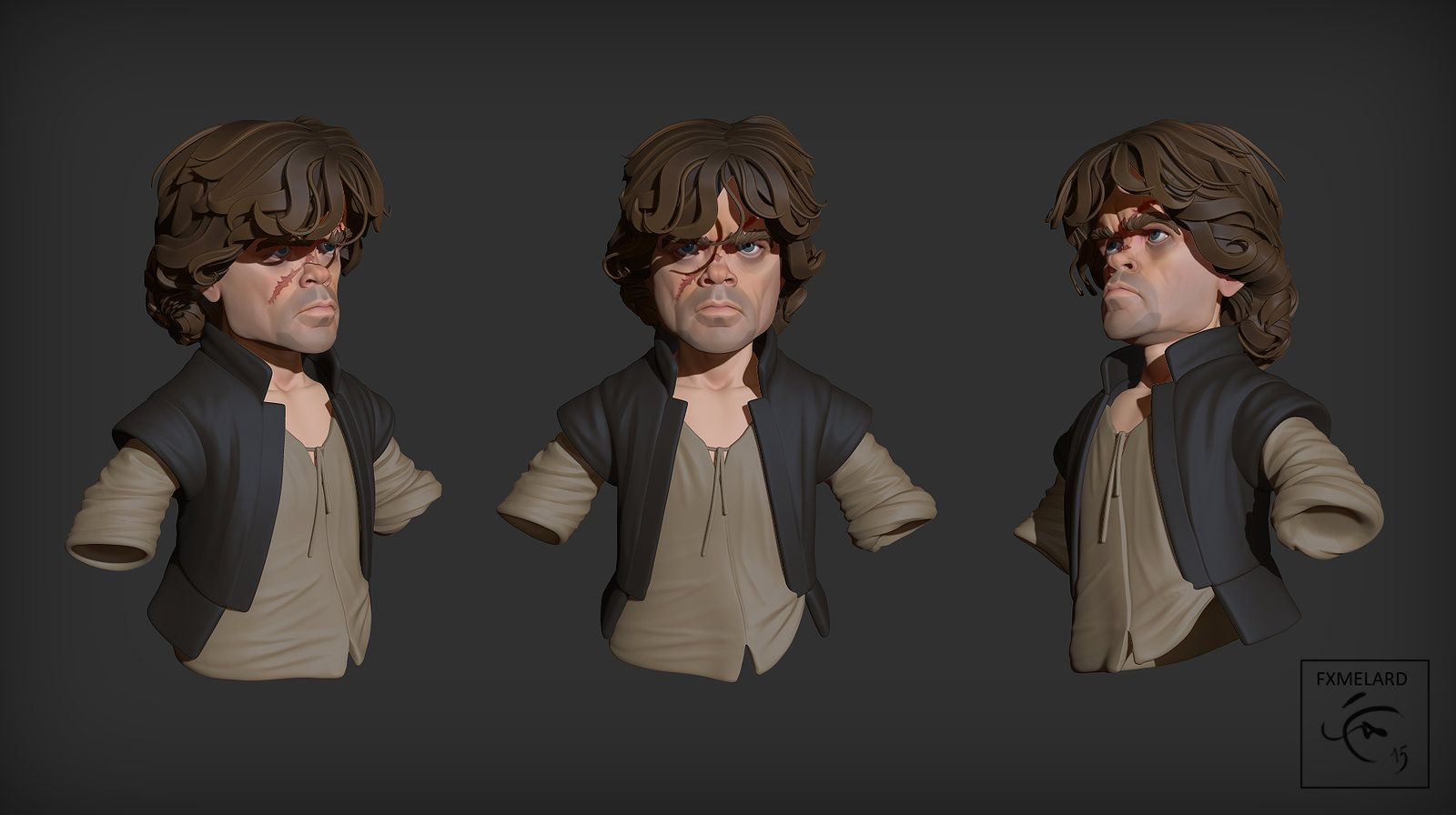 Tyrion has done it, FX Melard on ArtStation at https://www.artstation.com/artwork/tyrion-has-done-it